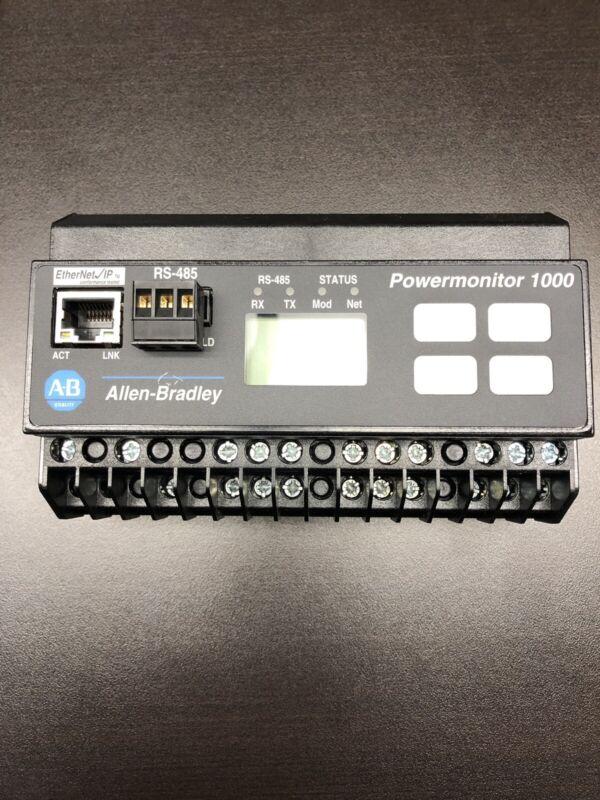 New Allen-Bradley Bulletin 1408 PowerMonitor 1000 Cat: 1408-EM3A-ENT Ser: A