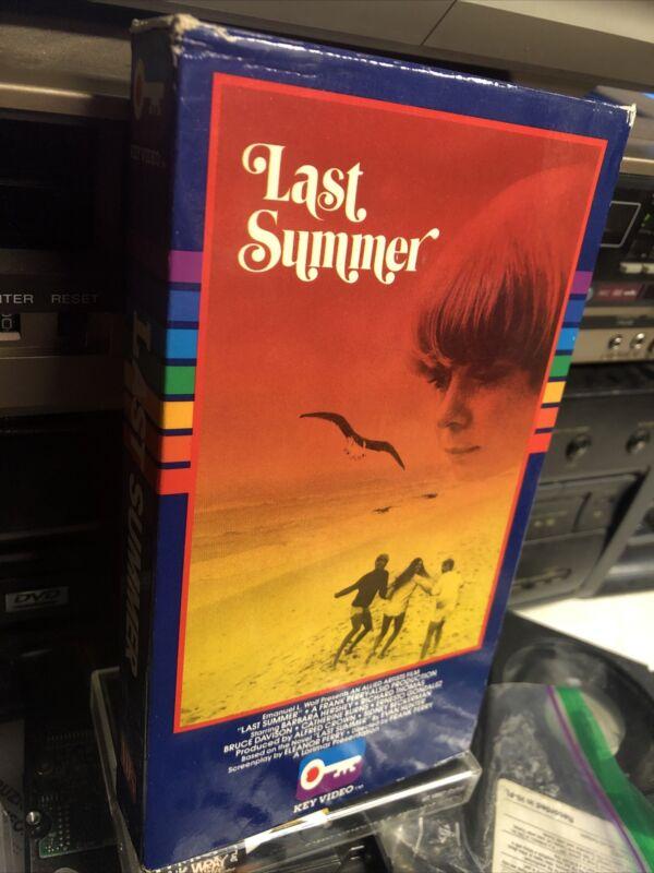 Last Summer 1969 Beta Betamax Not Vhs Rare Not On DVD