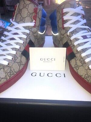 Gucci Ace GG High Tops - Size 9
