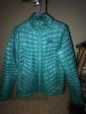 The North Face quilted Women's Insulated Jacket Teal M Medium