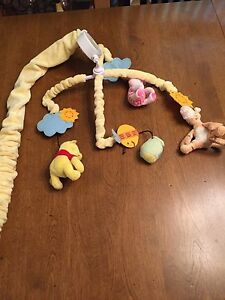 Winnie the Pooh mobile for crib