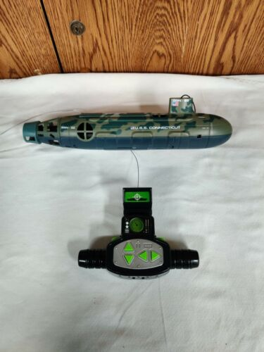 U.S.S. Connecticut - RC Submarine Toy - SSN-22 - Pre-owned