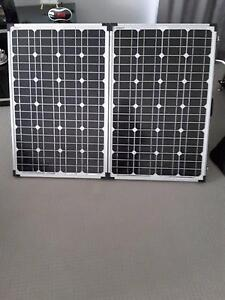 FOLDING SOLAR PANEL KIT BATTERY CHARGE Summerland Point Wyong Area Preview