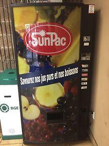 Vending fridge