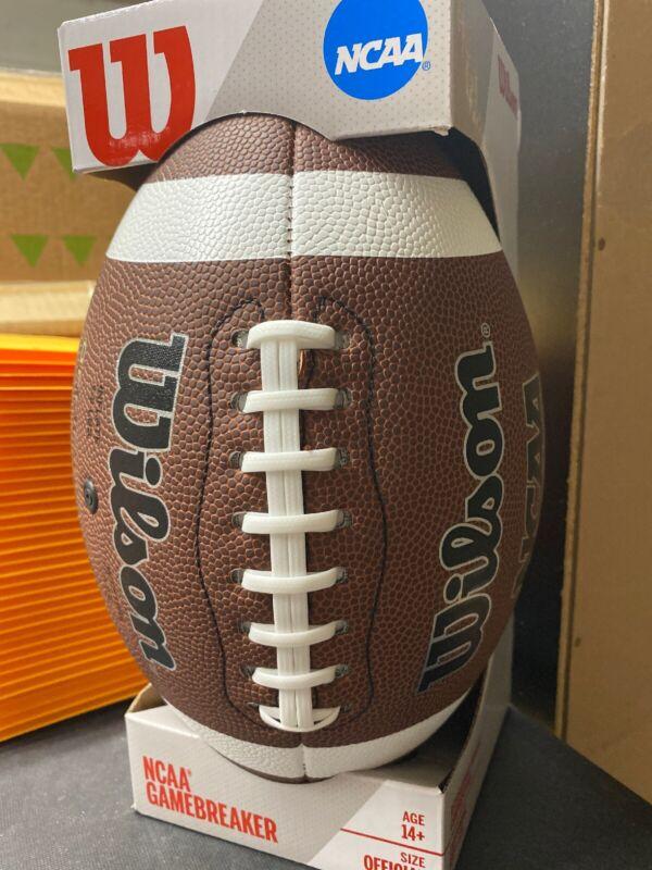 Wilson NCAA GameBreaker Series Official Size Football NEW