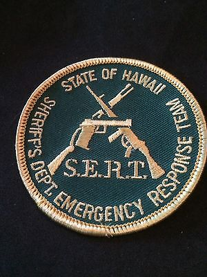 Hawaii State Sheriff SERT team patch SWAT
