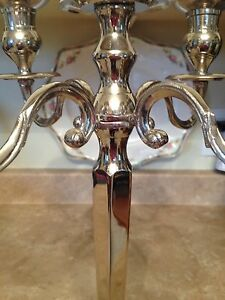 Beautiful silver candelabra Kingston Kingston Area image 2