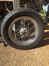 Harley Davidson rear wheel and swing arm Kallangur Pine Rivers Area Preview