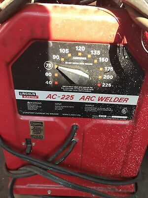 -------  Lincoln Electric Ac-225-s Arc Stick Welder 230v Sngl Phase  ------