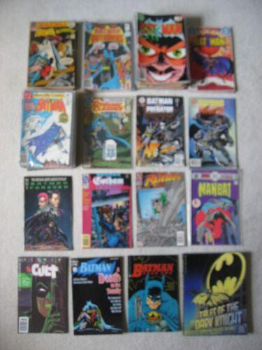 119 BATMAN COMIC BOOK LOT: BRONZE AGE TO MODERN ASSORTED TITLES
