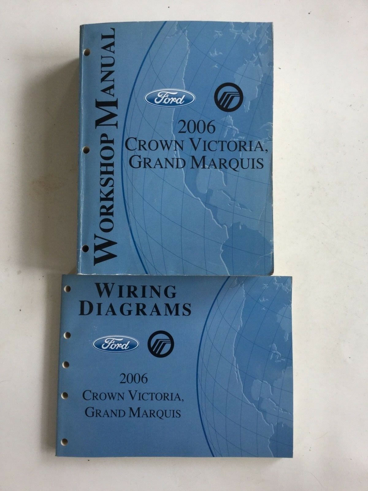 2006 Crown Victoria, Grand Marquis Workshop Manual With Wiring Diagrams Manual