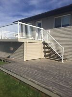 Fences, patios, stairs and railing