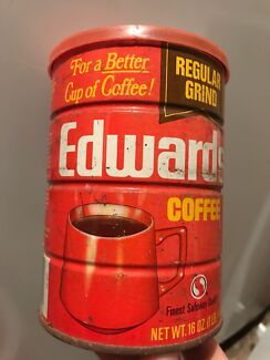 Vintage American Made Edwards Coffee Tin