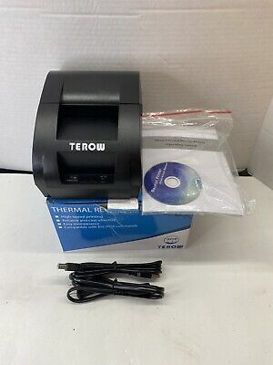Usb Thermal Receipt Printer Terow 58mm Mini Small Portable Label 5890k