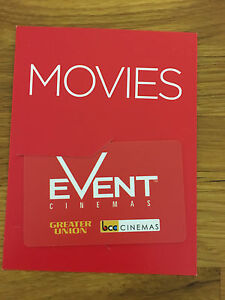 $60 Event Cinemas gift card Lane Cove North Lane Cove Area Preview