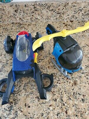 Imaginext Batman Helicopter and Car Batmobile