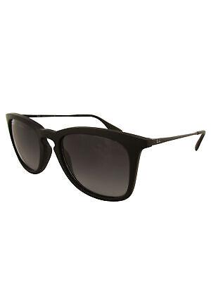 Ray Ban Womens RB4221 Wayfarer Fashion Sunglasses, Black/Grey (Ray Ban Wayfarer Logo)