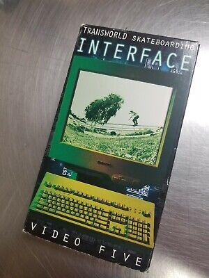 Transworld Interface Skateboard VHS Video Skate Magazine HUF Thrasher Duffy Nike