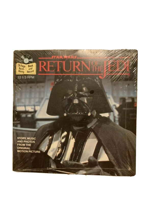 Vintage Star Wars Record And Book Story Music And Photos Nip E3