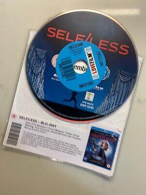 SELF/LESS (2015) Blu Ray * DISC ONLY * Ryan Reynolds Ben Kingsley Thriller