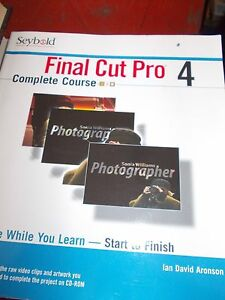 Final Cut Pro 4 BOOK with disc Penshurst Hurstville Area Preview