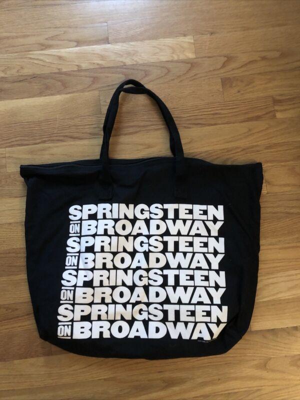 Springsteen On Broadway Tote Bag