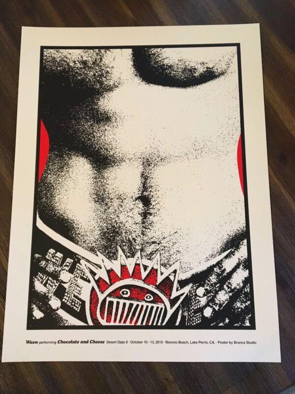 Ween Poster Desert Daze 2019 Official Limited Screen Print Dean Gene Brown