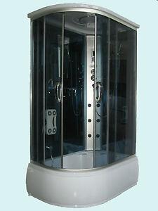 Cabina box doccia idromassaggio con vasca da 120x80 bagno turco docce vasche ebay - Bagno turco fai da te ...