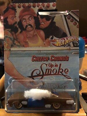 Custom Hot Wheels 65 Impala Cheech And Chong Movie Car Up In Smoke Custom Card