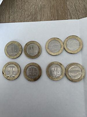 £2 Coin 2013 Two Pound Coin x8 London underground train and roundel
