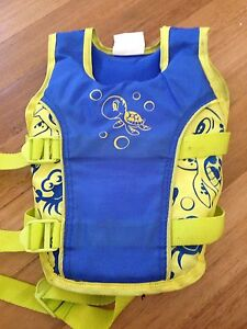 Aerial children's swim vest aged 2-3 years Robina Gold Coast South Preview