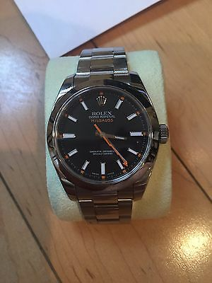Rolex Milgauss 116400 Black Wrist Watch for Men