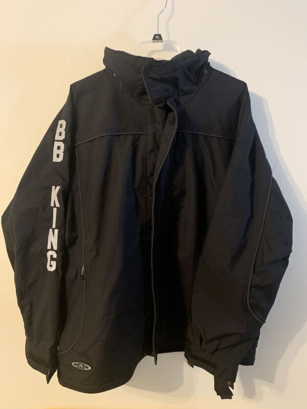 B.B. King of Blues Vintage Official Concert Tour Crew Only Jacket Coat XL New