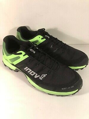 Inov8 Mudclaw 300 Mens Trail Running Shoes - Black/Green - UK Size 9