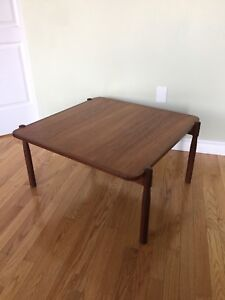 Mid Century Modern Teak Coffee Table