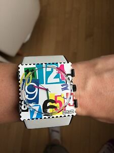Montre Stamp interchangeable