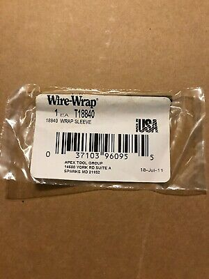 Apex Tool Group T18840 Wrap Sleeve Wire Wrap 24 Awg