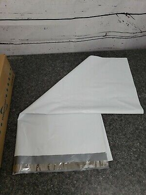 Poly Mailers Case Of 125 White Courier/ Ployjacket Bags 24