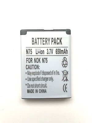 NOKIA BL-5BT BATTERY FOR NOKIA 2600 CLASSIC 2605 2760 6120 7510S N75...
