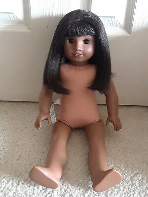 American Girl Dark Skin Black hair Doll Melody Mint Condition
