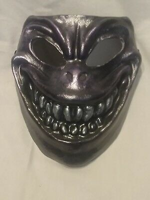 Chupacabra mask , mardi gras, day of the dead mask.