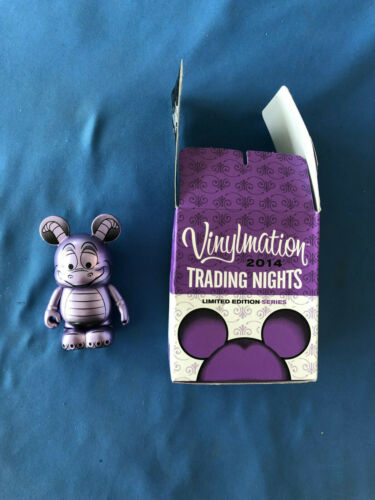"""FIGMENT  DISNEY 3"""" VINYLMATION Pin trading Night 2014 EXCLUSIVE  Limited HTF"""