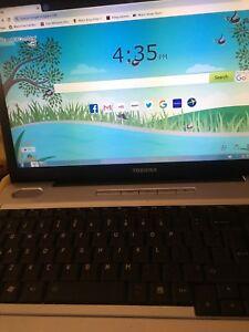 Toshiba laptop mint condition
