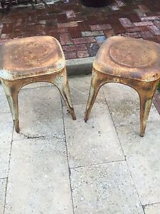 2 beautiful rustic stools Beaconsfield Fremantle Area Preview