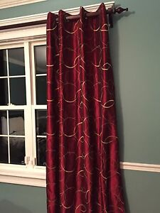 Embroidered Curtain Panel