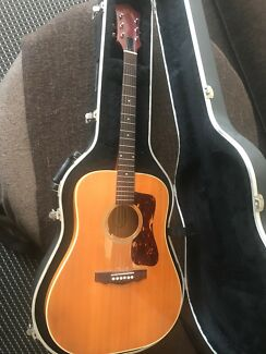 1972 G37 Guild acoustic guitar