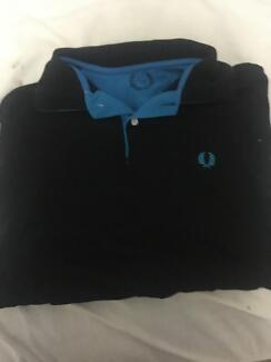 Navy Fred Perry Polo (Men's Large)