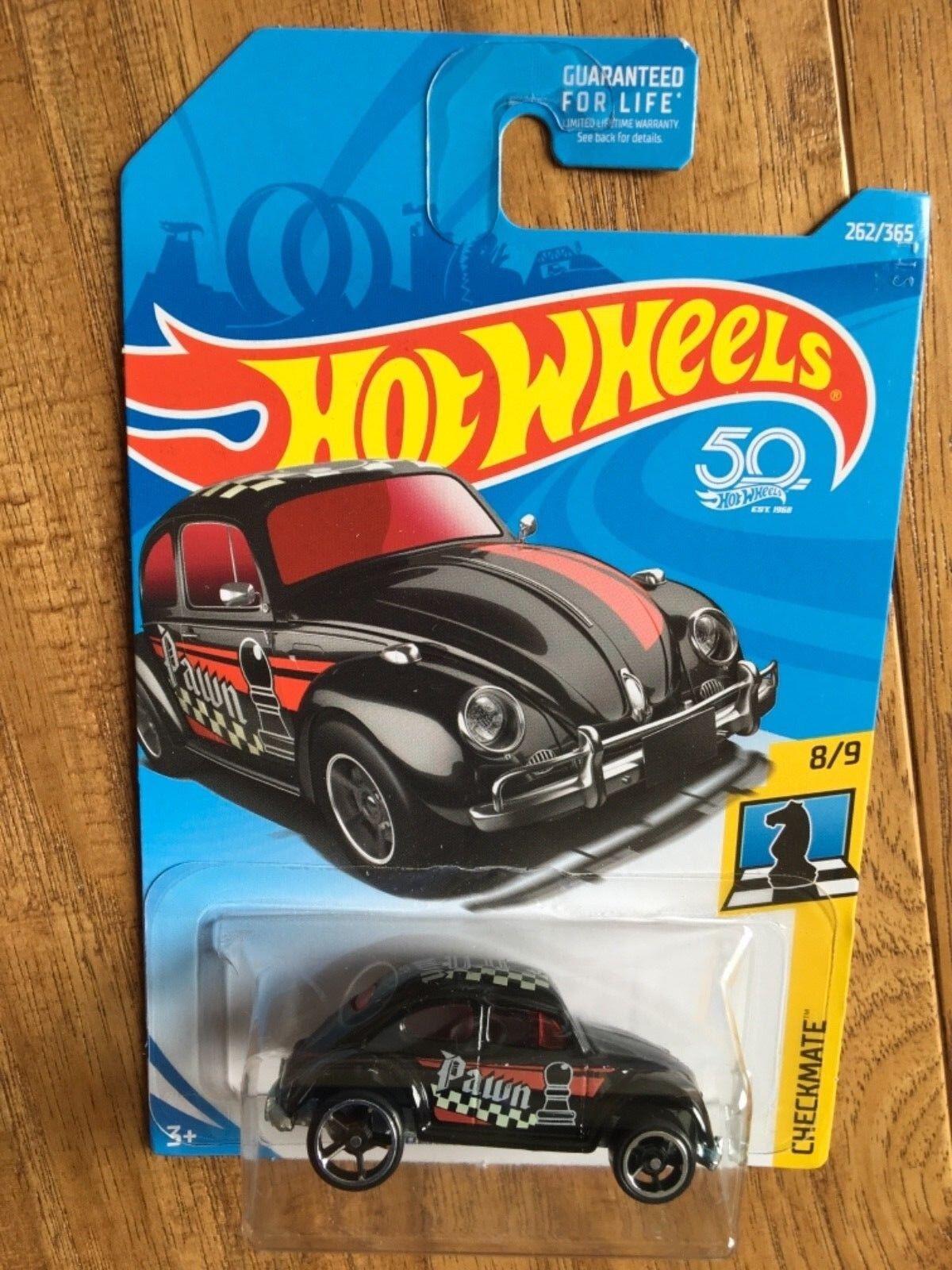 Hot Wheels 2018 50th Anniversary Checkmate King Kuda  261/36
