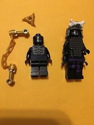 Lego Minifigure Ninjago Lord Garmadon With Weapons 70679 4 Arm + 2 Arm