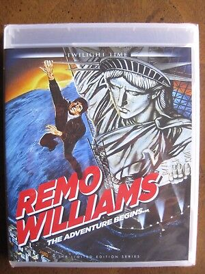 REMO WILLIAMS (1985) (Blu-Ray) TWILIGHT TIME - FRED WARD - BRAND NEW!!!